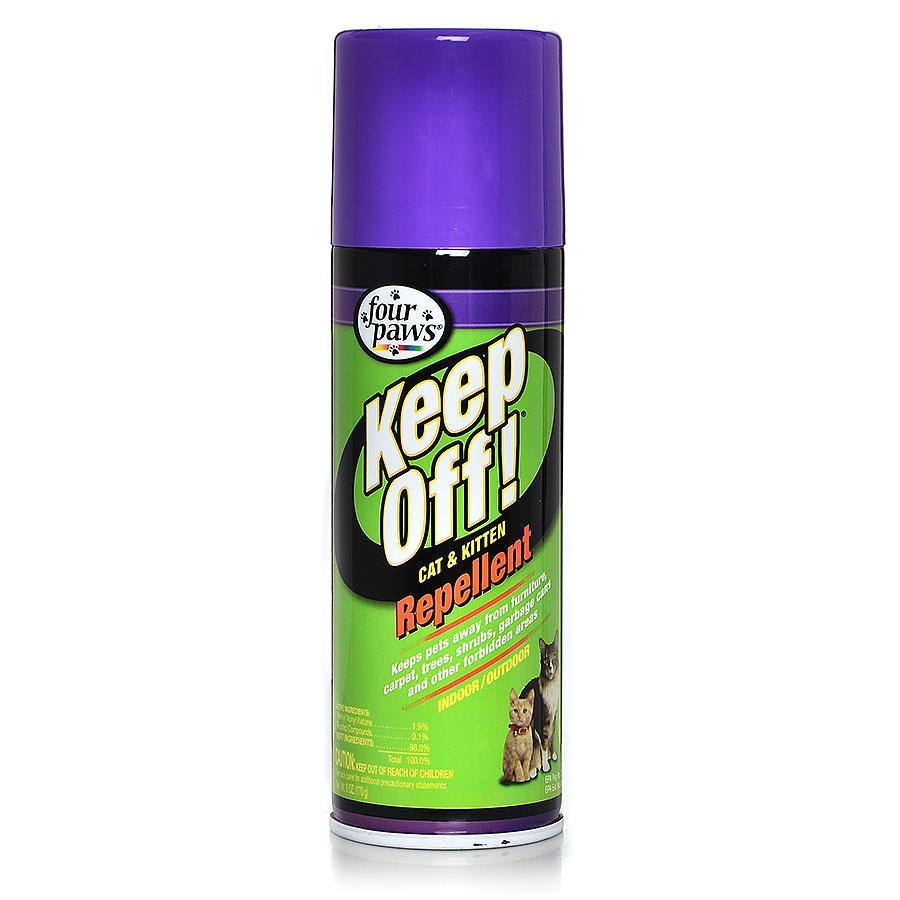 Cat repellent spray